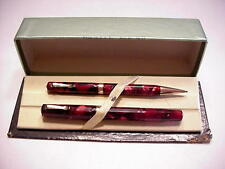 Wahl 14K Nib Eversharp Bantam Doric Fountain Pen & Pencil Set OB