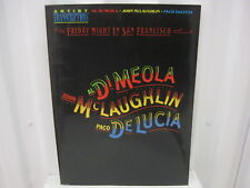 Al Di Meola John Mclaughlin Paco DeLucia Friday Night in San Francisco Song Book