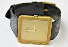 PIAGET PROTOCOLE 9154 MENS WATCH 18K YELLOW GOLD, ORIGINAL STRAP ,GOLD BUCLE , Q