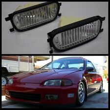 Honda Prelude Accord EG6 CD5 BB4 BB6 Front Bumper Intersection Fog Lights Lamp