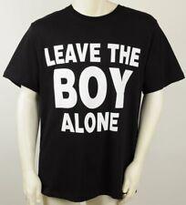 "Boy London T Shirt Leave The Boy Alone Black Mens Medium, M, 42"" Chest, NWT"