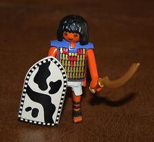 Playmobil personnage Egypte pyramide soldat bouclier sabre 4245 ref cc