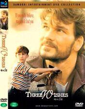 Three Wishes (1995) New Sealed DVD Patrick Swayze