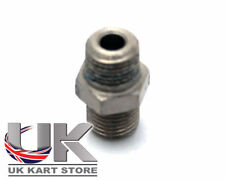 TonyKart / OTK Genuine Straight Fitting For Brake Pipe UK KART STORE