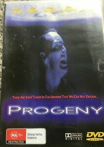 Progeny DVD 1998 Cult Horror Alien Sci-Fi Film Movie - Arnold Vosloo PAL REGIONS