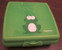 Tupperware A 126 Sandwichbox Frosch Pausendose Brotzeitdose Dose Grün Neu OVP