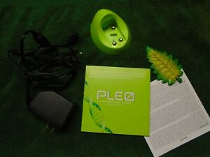Pleo Uglobe Life Form charger, book, leaf Free shipping.