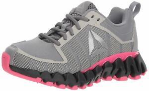 Reebok Men's ZigWild Tr 5.0 Running Shoe  Shark/Coal/Twisted Pink/S CN2446