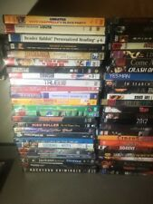 Collection Lot of 50 ASSORTED DVDs Movies 50 DVDs NO DUPES