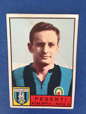 FIGURINA CALCIATORI PANINI STICKERS 1963/64 ATALANTA PESENTI NUOVA