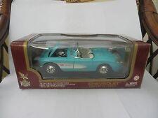 ROAD Legends modello IN SCALA 1:18 Blu Chevrolet Corvette (1957)