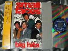 "SMALL FACES ""Big Hits"" Japanese early videos/live compilation/Docu w/obi +insert"