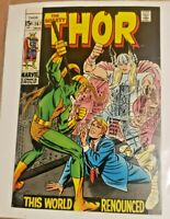 The Mighty Thor #167 -  High Grade - Galactus Attacks