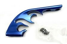 PAINTBALL 3D FLAME DROPFORWARD WITH DOVETAIL RAIL BLUE + SCREWS