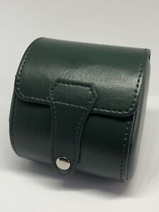 Green PU Leather Single Watch Travel Case fit ROLEX OMEGA SEIKO