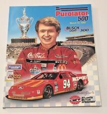 Atlanta Motor Speedway Program With Starting Lineup Purolator 500 March 12 1995