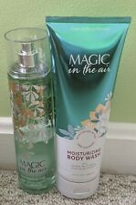 2 Piece Bath and Body Works MAGIC IN THE AIR Body Wash and Fragrance Mist