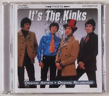 THE KINKS / IT'S THE KINKS / COMPILATION / ORIGINAL MONO RECORDINGS / PIESD 134