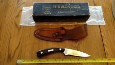 Vintage SCHRADE USA 154 0T Sharpfinger Hunting Knife Leather Sheath MINT/in/Box