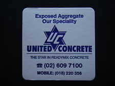 UNITED CONCRETE THE STAR IN READYMIX CONCRETE 02 6097100 COASTER