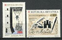 Croatie (Hrvatska) 1994 Mi. 274-275 Neuf ** 100% découvertes et inventions