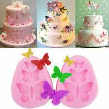 Butterfly Lace Decorating Tools Cutter Mold Sugarcraft Fondant Cake Baking Mould