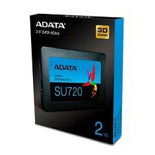 ADATA SU720 2TB 2.5 inch Internal SATAIII 6GB/s Solid State Drive New Retail