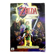 The Legend of Zelda Ocarina of Time Official Strategy Guide Nintendo N64