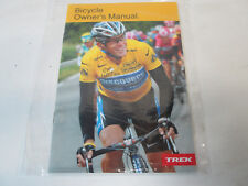 TREK Bicycle Owners Manual with CD Lance Armstrong