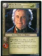Lord Of The Rings CCG FotR Card 1.R284 Bilbo Baggins Retired Adventurer