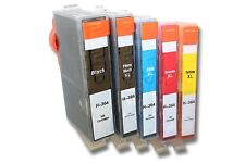 5 Chipped Ink Cartridge 364xl for HP 5520 5524 6510 6520 7510 Printers Photo Bk