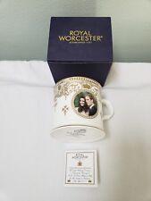 Royal Worcester - Royal Wedding Beaker - 2011 - William & Catherine