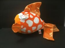 "Ty Beanie Boos Sami the Fish Glitter Eyes 12"" Nose To Tail New w/ Tags 2017"