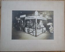 Ralston Purina Co. 1910 Photograph Pet/Breakfast Food - Trade Show Booth