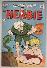 Herbie #5 October 1964 G/VG Beatles, Dean Martin, Frank Sinatra cameos