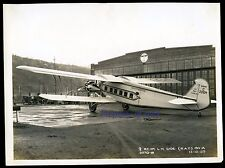 Boeing Air Transport Model 80A Tri-Motor C226M ~1929 RARE ORIGINAL FACTORY PHOTO