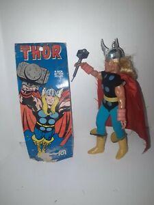 "Vintage 1975 Mego Thor WGSH 8"" Original Action Figure ~100% Complete .plus"