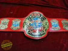 World Heavyweight Wrestling Championship Belt  in 4MM Plate FREE SHIPPING