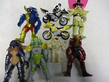 9 Bandai Mighty Morphin Power Rangers Figures and Aliens