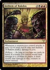 *MRM* FR 4x Antienne de Rakdos (Anthem of Rakdos) MTG Dissension