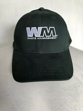 WASTE MANAGEMENT Official New Green Adjustable Baseball Hat