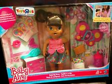 Baby Alive BUTTERFLY PARTY BABY DOLL BRUNETTE TRU EXCLUSIVE NEW IN BOX