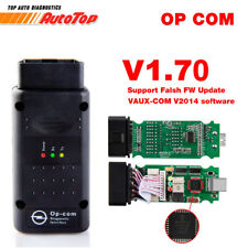 2018 NEW OPCOM V1.70 for Opel OP COM OBD2 Diagnostic Scanner with Flash Firmware