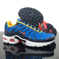 Nike Air Max Plus (GS) Athletic Sneakers Photo Blue Crimson Boys Size 5 NEW!