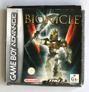 Nintendo GameBoy Advance Bionicle Boxed with Manuals Game boy - 100% Genuine
