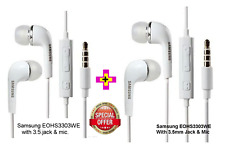 Combo Offer-2 Samsung Earphones Headset High Quality sound with Mic.3.5 mm jack
