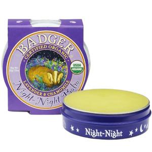 Badger Balm 21g Organic Night Night Balm - Relaxing Aromotherapy For Children