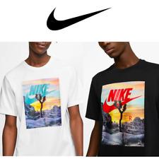 Nike Men's T Shirt Sportswear JOSHUA TEE AT SUNSET Black, White CT6884 SZ S~3XL