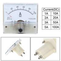 85C1  Analog Pointer Ammeter Test  Ampere Meter Mechanical  Gauge
