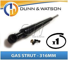 Gas Strut 316mm 300N x1 (6mm Shaft) Bonnet Cabinet Trailers Canopy Toolboxes 4wd